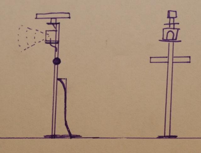 Zeichnung Vormast